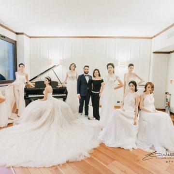 Preview della Collezione Sposa 2019 di Alessandro Tosetti tutta Made in Como