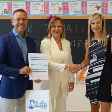 My Life dona € 30.000 alla scuola pubblica