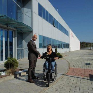 Moretti Spa è sponsor ufficiale di Giulia Capocci, campionessa italiana del tennis paraolimpico