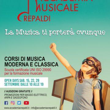 Accademia Musicale Crepaldi – La Musica ti porterà ovunque
