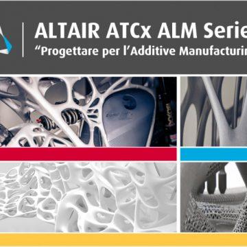 Additive Manufacturing: nuovi metodi e soluzioni di progettazione per la stampa 3D protagonisti della serie di eventi ATCx a Torino, Milano, Padova, Roma e Napoli