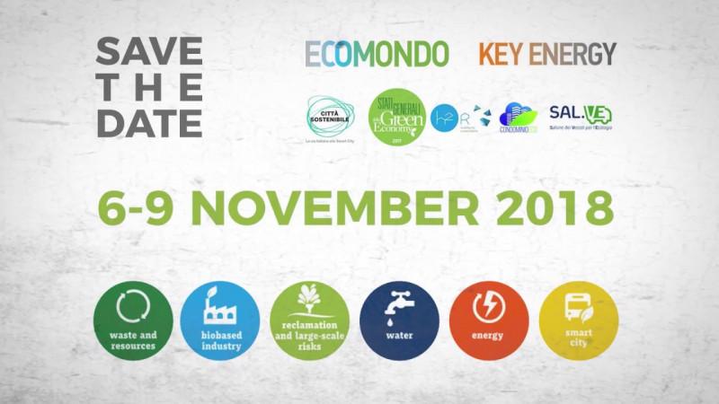 KEY ENERGY-ECOMONDO 2018: verso un progresso responsabile