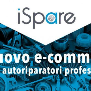 Debutta iSpare.it, piattaforma online di vendita di ricambi auto e attrezzature per officina