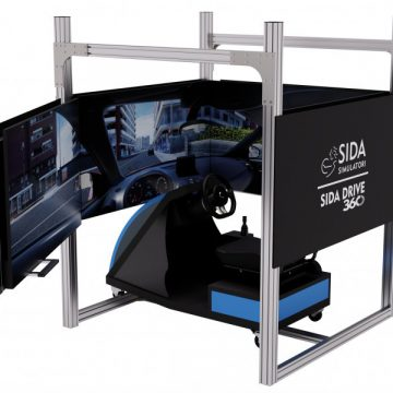 """SIDA DRIVE 360°, il primo simulatore italiano """"NATIVO"""" didattico per prepararsi alla patente, con una reale visione a 360°,  verrà presentato per la prima volta al Congresso 2019 di Confarca  il prossimo 11 e 12 maggio"""