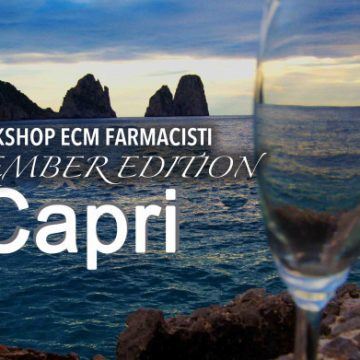 Workshop formativo farmacisti a Capri September edition – 20.21.22 Settembre 2019