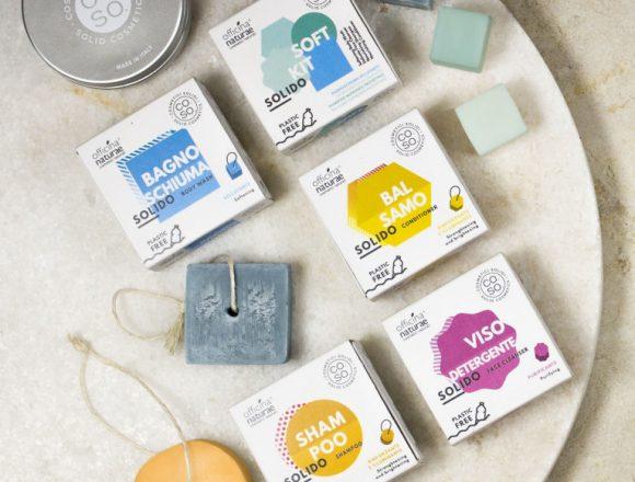 Nascono i CO.SO. (cosmetici solidi), alternativa green e plastic free ai prodotti oggi in commercio