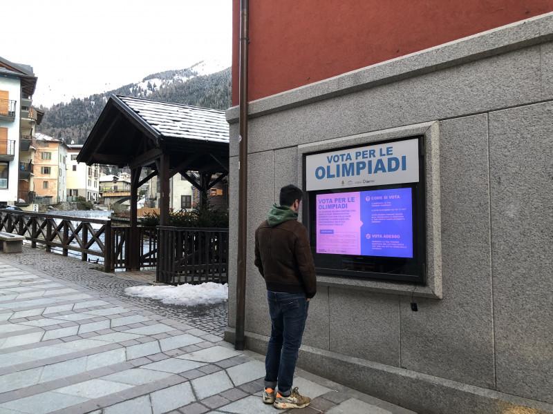 VOTAZIONI SU BLOCKCHAIN PER SOSTENERE PONTEDILEGNO-TONALE  ALLE OLIMPIADI MILANO-CORTINA 2026