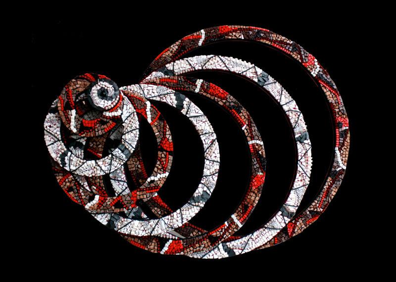 """""""Mondi Circolari""""  – Mostra di mosaici circolari di Veronica Pollini, a cura di Silvia Agliotti"""