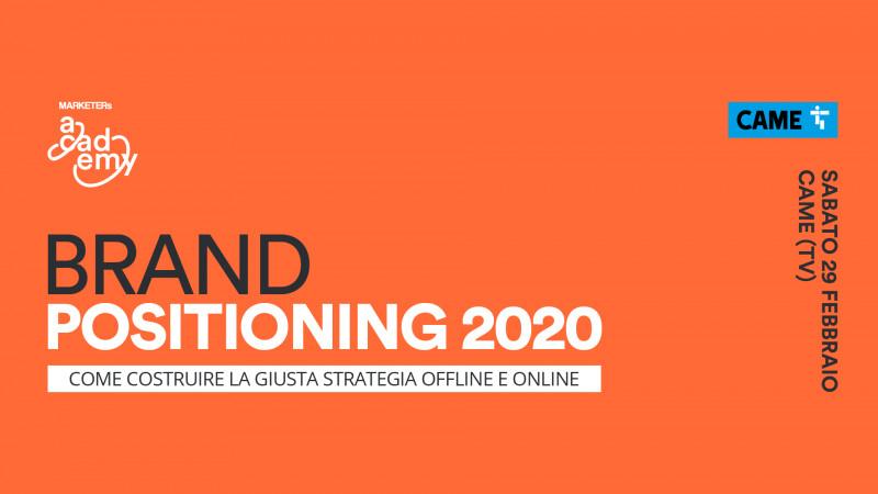 Formazione di eccellenza in Veneto: riprendono i corsi MARKETERs Academy con il meglio del marketing italiano