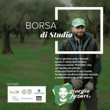 """Borsa di Studio """"Giorgio Fazari"""""""