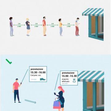 Coronavirus: contattare i negozianti, confrontare i prezzi e prenotare la prova o il ritiro senza code né assembramenti. Possibile grazie alla startup Ilovecomm