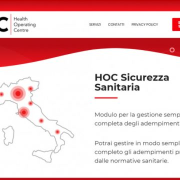 HOC SRL: RENDIAMO PIU' VELOCE E SICURA LA RIAPERTURA DI IMPRESE, ASSOCIAZIONI E SCUOLE