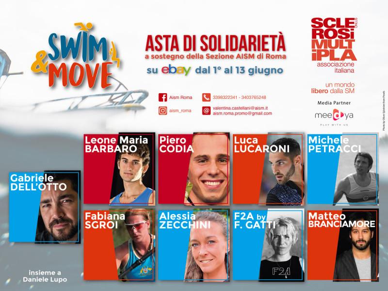 Meedya e AISM Roma, insieme per aiutare la ricerca