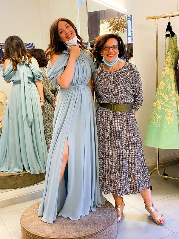 Alta moda e musica lirica fanno squadra: il soprano Mariangela Sicilia sarà testimonial ufficiale dalla Sartoria Vittoria Bonini di Bologna