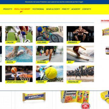 La nuova immagine online di ProAction: un portale a misura di sportivo