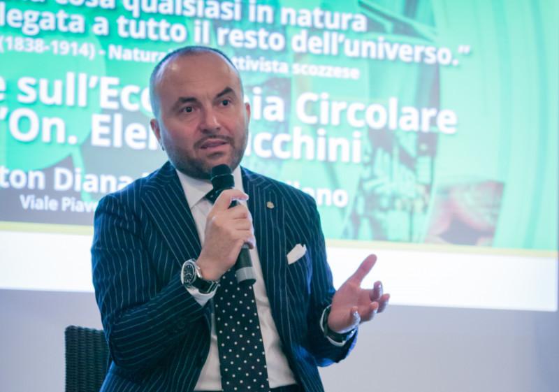 """FABRIZIO CAPACCIOLI ELETTO VICEPRESIDENTE DEL GREEN BUILDING COUNCIL ITALIA.  """"SFIDA CRUCIALE: PENSARE VERDE E AGIRE VERDE"""""""
