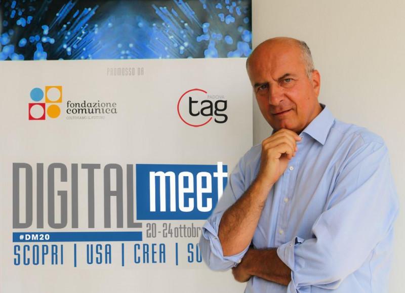 DIGITALmeet, festival super-smart: in meno di 24 ore riconverte tutti gli appuntamenti in presenza in eventi online, nel massimo rispetto del DPCM di domenica 19 ottobre