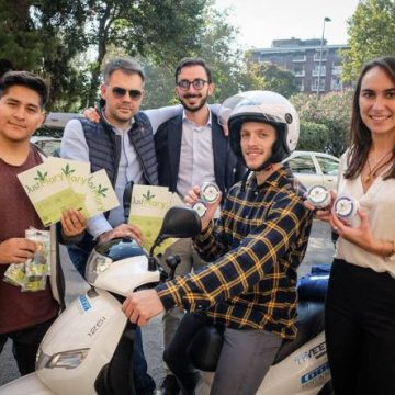 A Verona arriva JustMary.fun, la startup della marijuana light (e sponsor dell'Hellas Verona)