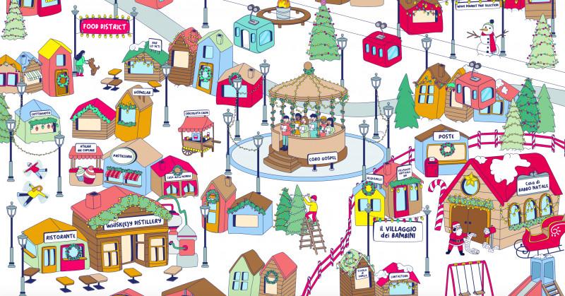 Dall'8 dicembre al 6 gennaio Digital Xmas, il primo villaggio di Natale digitale