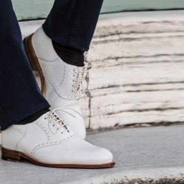 """Italia e Giappone si incontrano in """"SEISHOU"""", la nuova linea di scarpe di lusso disegnata da Ikeda & Matsuzaki per Fratelli Borgioli"""