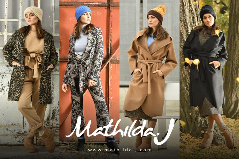 È online il nuovo e-commerce di abbigliamento firmato Mathilda J