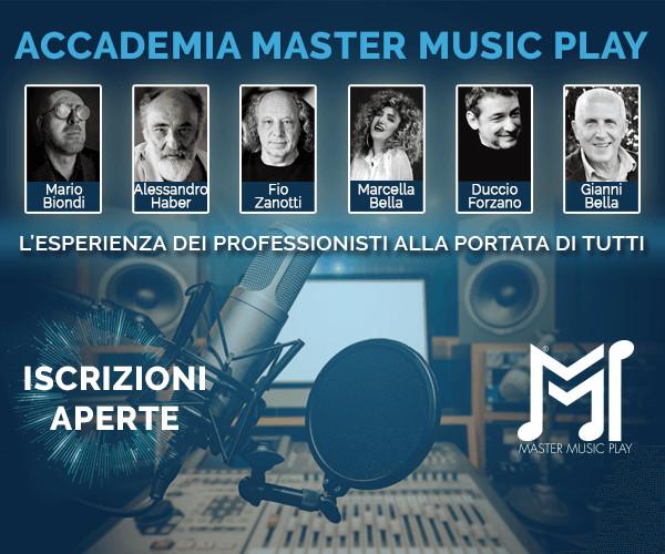 Accademia MASTER MUSIC PLAY scuola di alta formazione musicale, apre le iscrizioni ai propri corsi con formula weekend