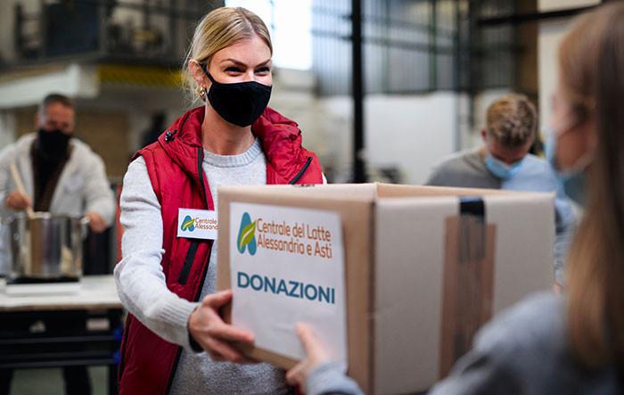 Dalla Spesa sospesa alle donazioni alla Caritas: l'impegno sociale di Centrale del Latte di Alessandria e Asti