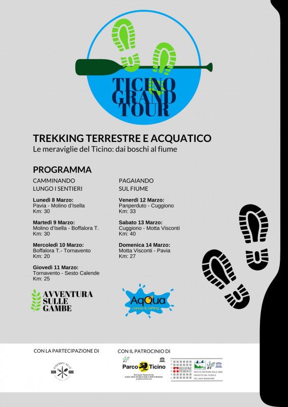 TICINO GRAND TOUR |  La prima traversata integrale del Parco del Ticino