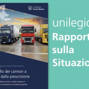 Rapporto sul cartello dei camion: Quattro mesi alla prescrizione, un milione di camion in tribunale, ma piccole e medie imprese ancora inattive.