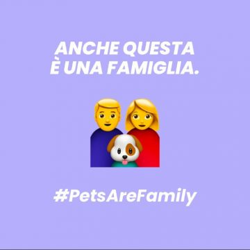 Pets Are Family, un emoji per la pet family
