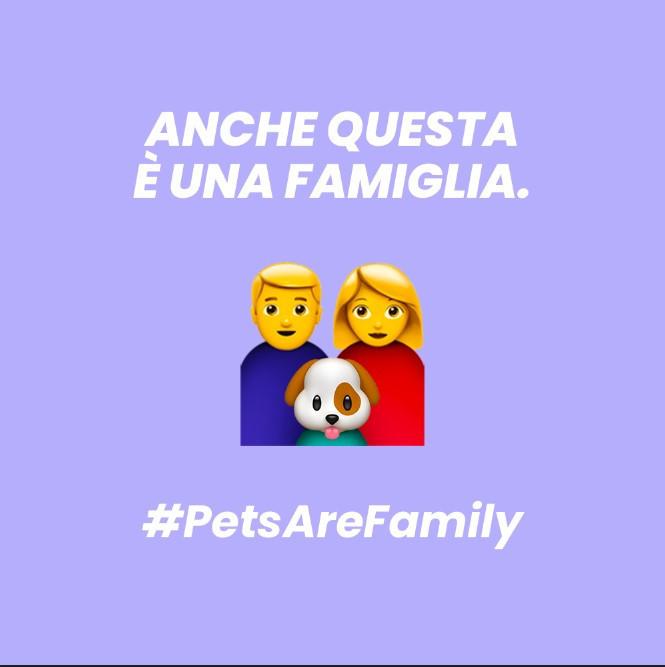 Pets Are Family, un emoji per la pet family