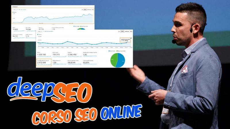 Compie un anno DeepSEO, piattaforma di approfondimento Seo non-stop: 500 iscritti e 200 videolezioni per la prima accademia online sempre aggiornata dedicata alla Seo in Italia