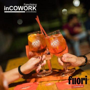 Inaugurazione FUORI.untemporarybar #inCOWORKstaFUORI