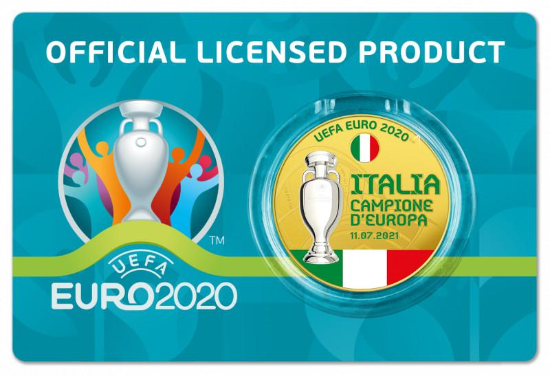CONIATA UNA MEDAGLIA PER ITALIA CAMPIONE D'EUROPA EURO 2020
