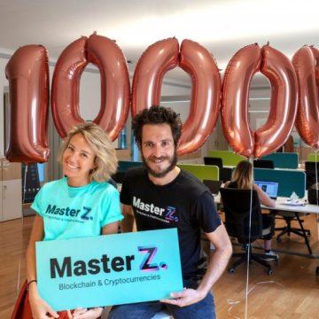 Cifre da record per il MasterZ in Blockchain: boom di richieste ad un mese dal lancio (oltre 5000 per 500 posti) e borse di studio per 1mln di euro. Obiettivo: 10mila candidature tra Italia e Europa