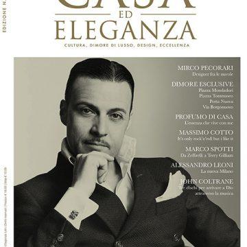 Casa ed eleganza: la nuova rivista dedicata a cultura, dimore di lusso, design, eccellenza si espande