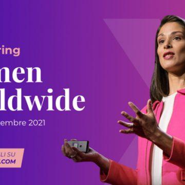 CODERBLOCK RENDE IMMERSIVO IL SUMMIT INTERNAZIONALE WOMENX IMPACT (FICO EATALY WORLD, 18-21 NOVEMBRE 2021)