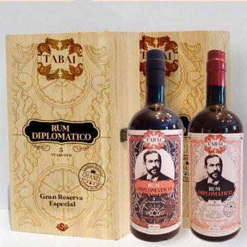 I rum piu ricercati da degustazione Il Diplomatico Tabai dal Costa Rica e Repubblica Domenicana